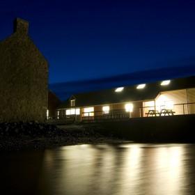 Taigh Chearsabhagh at night