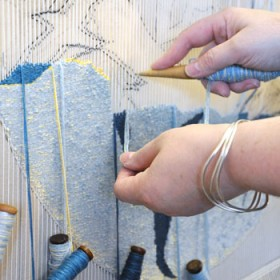 Hoxa Tapestry Gallery - Hand weaving