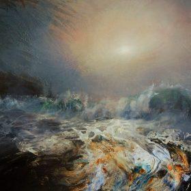 Spring Tide, Sandwood Bay 48ins x 36ins