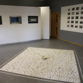 'Hebridean Pieces' installation by Tina Vanderwerf