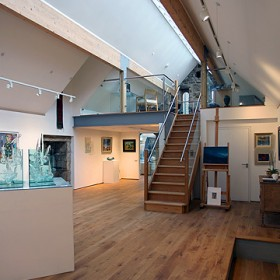 Brown's Gallery Interior 1