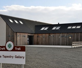 Hoxa Tapestry Gallery - Outside