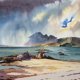 Peter McDermott - A Break in the Clouds, Ord Beach