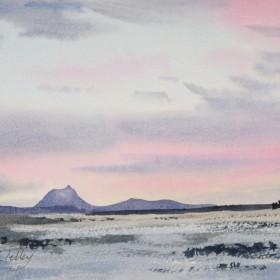 Soft Winter Sunset
