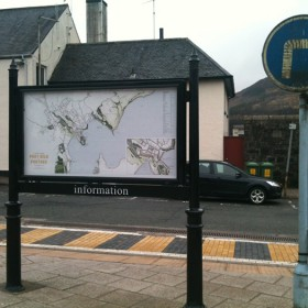 J. Maizlish Mole - A Walk Around Portree, installed