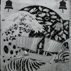 Seven Gates, detail. 2006