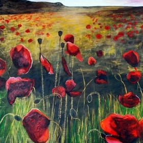 Golden Poppies by Lisa Weller