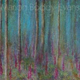 Listening to Spring: Foxgloves by Isle of Skye Artist Marion Boddy-Evans