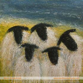 Sheep by Isle of Skye Artist Marion Boddy-Evans