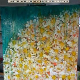 Daisies by Isle of Skye Artist Marion Boddy-Evans